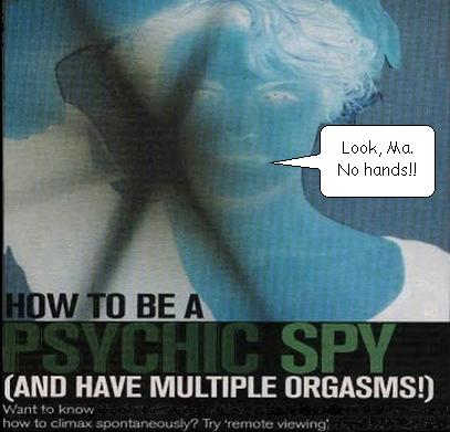 Prudence Calabrese tells Cosmo (UK) she uses remote viewing for orgasms